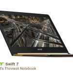 Swift 7 - Acer Launches The World's Sleekest Laptop!