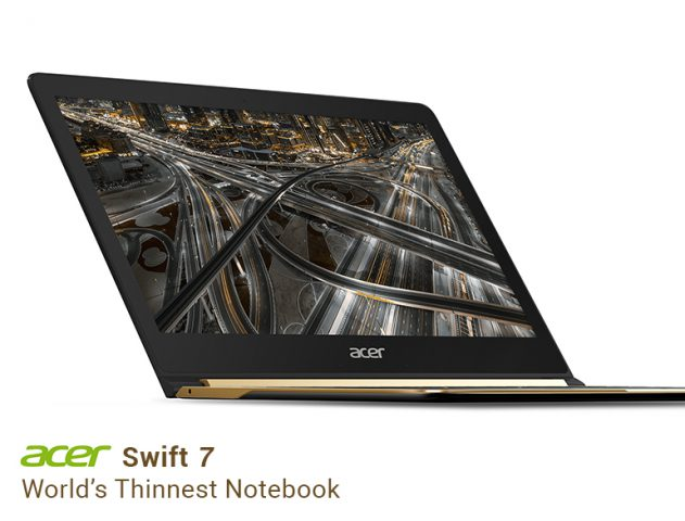 Acer Swift 7 review @TheRoyaleIndia
