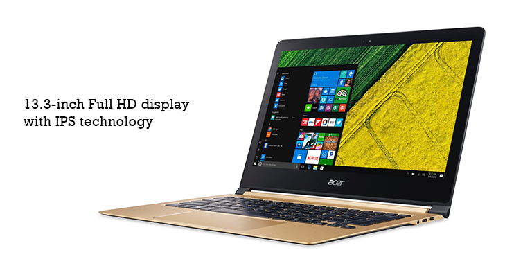 acer swift 7 laptop display @TheRoyaleIndia