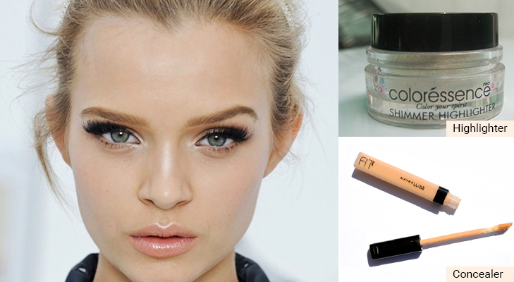 awake fresh look tips concealer highlighter @TheRoyaleIndia