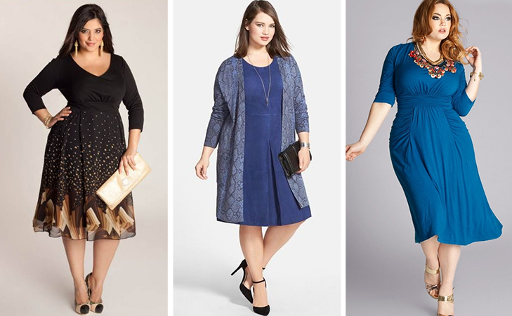 fashion tips for plus size women know your fabric @TheRoyaleIndia
