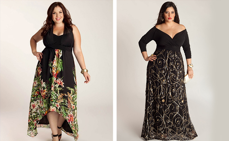 fashion tips for plus size women pattern matters @TheRoyaleIndia