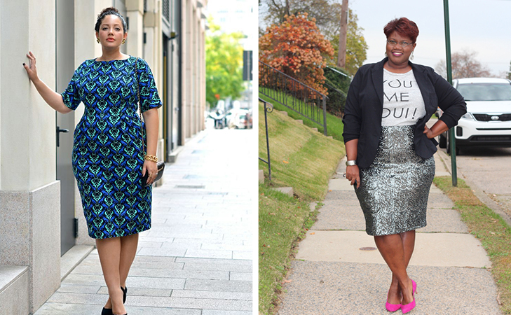 fashion tips for plus size women wear right fits @TheRoyaleIndia
