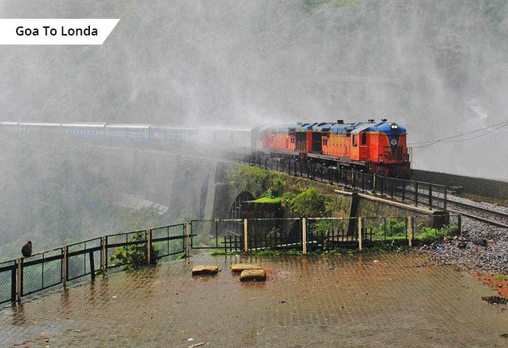 goa to londa konkan railways best rail route india @TheRoyaleIndia