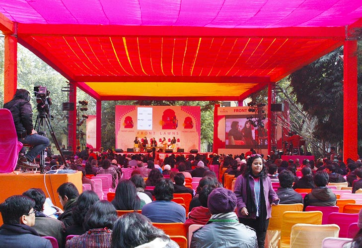 jaipur literature festival worlds largest free literary festival @TheRoyaleIndia