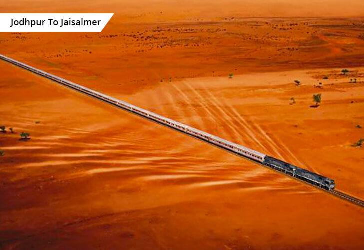 jodhpur jaisalmer jaipur best train route india @TheRoyaleIndia