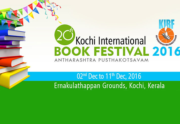 kochi international book festival @TheRoyaleIndia