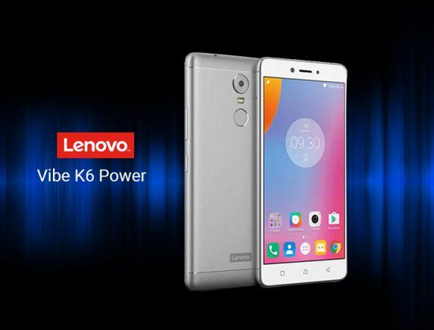 Lenovo Vibe K6 Power @TheRoyaleIndia