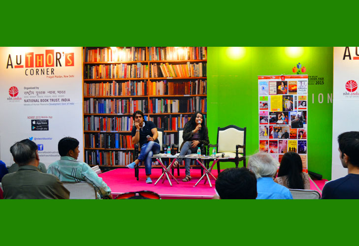 new delhi world book fair author corner @TheRoyaleIndia