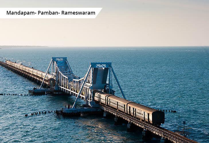 rameshwaram panbam best train routes india @TheRoyaleIndia