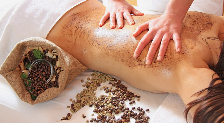 beauty benefits of coffee body scrub @TheRoyaleIndia