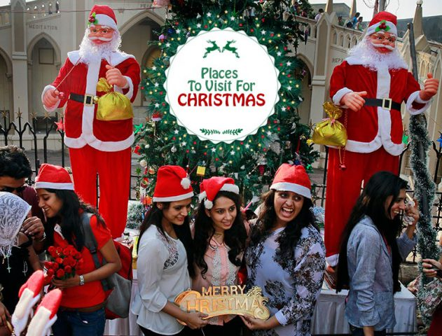 Christmas destinations in india @TheRoyaleIndia