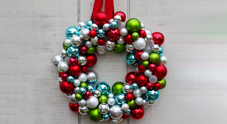 christmas decor ideas christmas ornaments wreath @TheRoyaleIndia