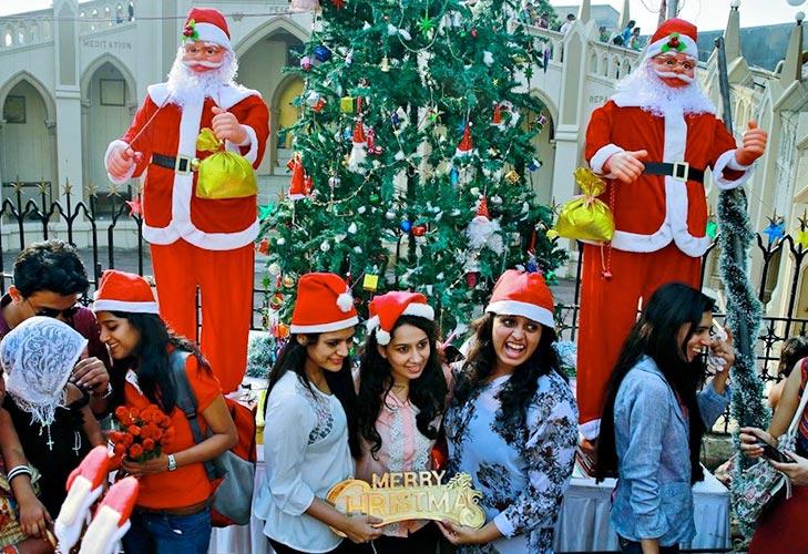 christmas destinations in india mumbai @TheRoyaleIndia