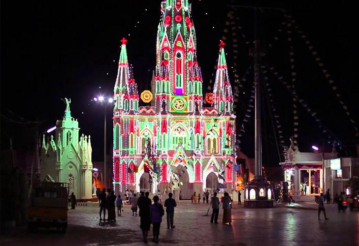 christmas destinations india kerala church @TheRoyaleIndia