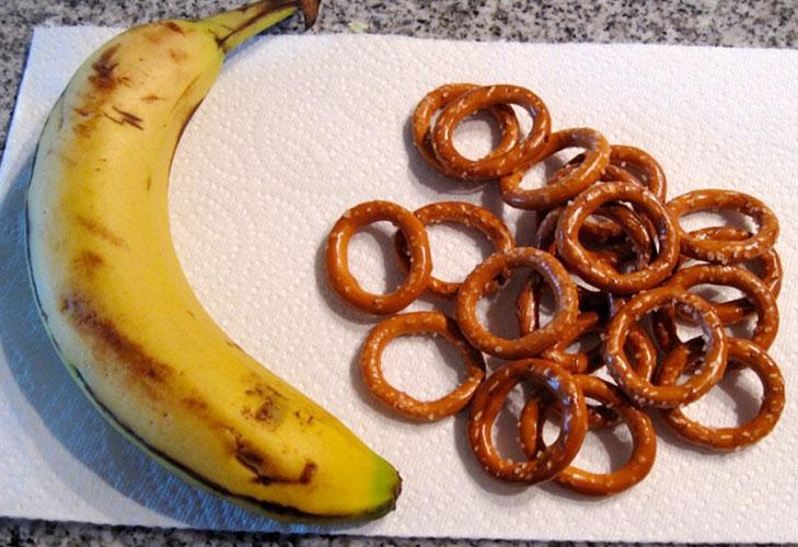 hangover remedies banana preztel @TheRoyaleIndia