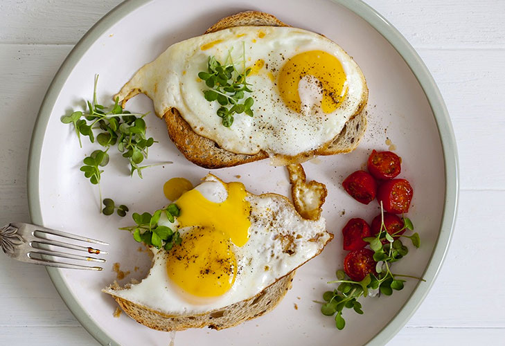 hangover remedies eat eggs toast @TheRoyaleIndia