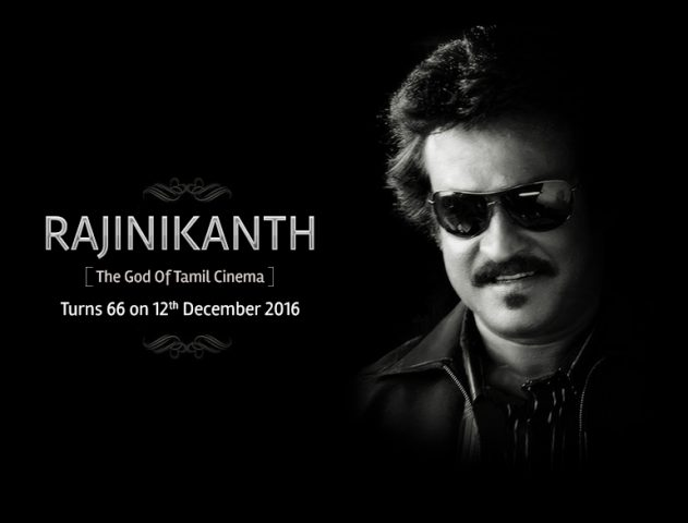 Happy Birthday Rajinikanth @TheRoyaleIndia
