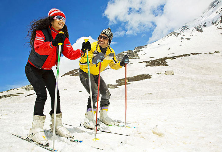 kullu manali snow sports winter honeymoon destination @TheRoyaleIndia