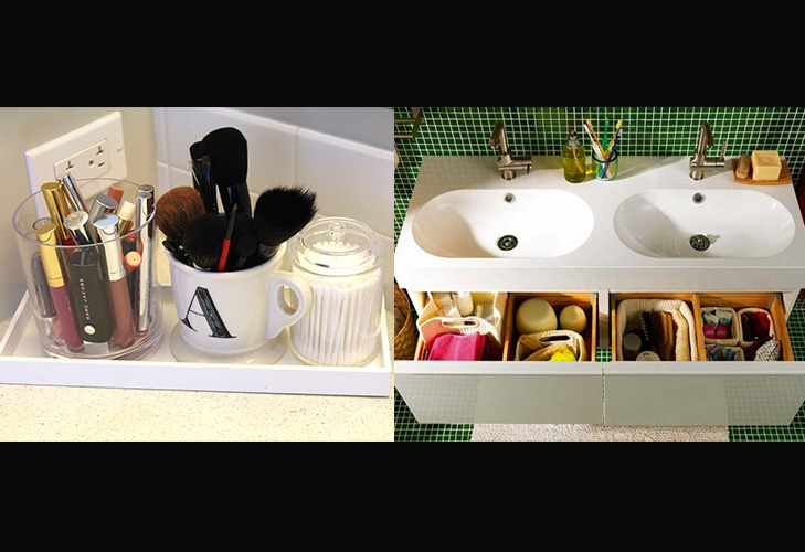 makeup mistakes storing cosmetics in bathroom @TheRoyaleIndia
