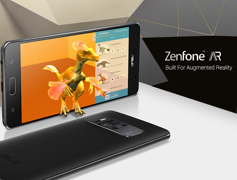 Asus Zenfone AR with Google Tango and Daydream @TheRoyaleIndia