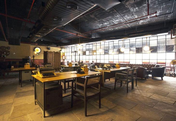 best theme restaurants delhi odeon social @TheRoyaleIndia