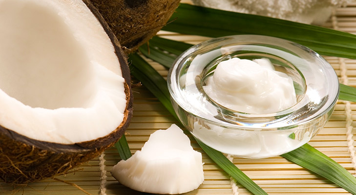 coconut oil skin infection irritated skin @TheRoyaleIndia