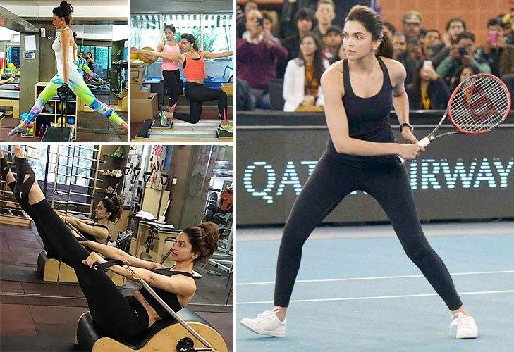 Deepika padukone fitness regime @TheRoyaleIndia
