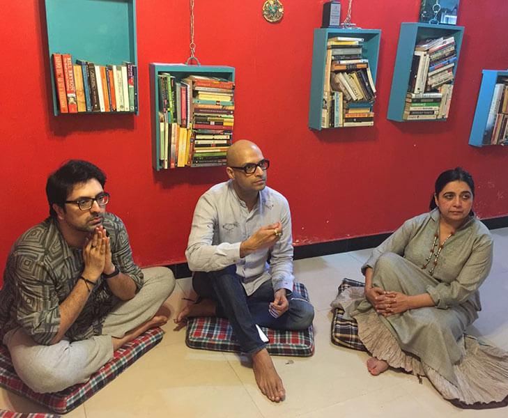 Gautam Vazirani Neeraj Gaba and Mandeep Nagi @TheRoyaleIndia
