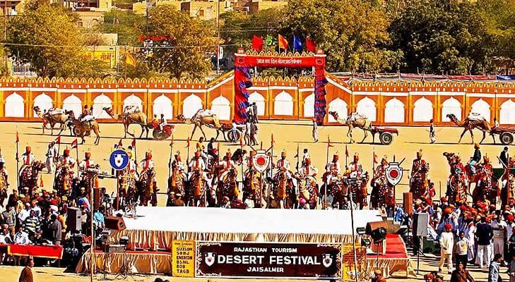 Jaisalmer desert festival @TheRoyaleIndia