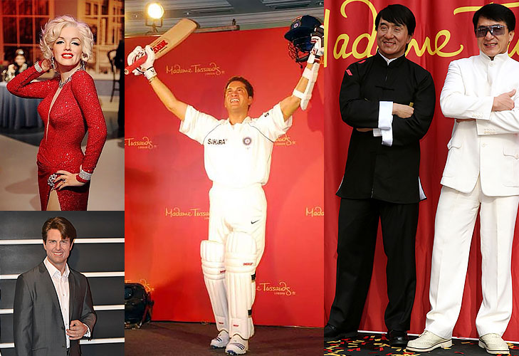 Madame tussauds wax statues Delhi @TheRoyaleIndia