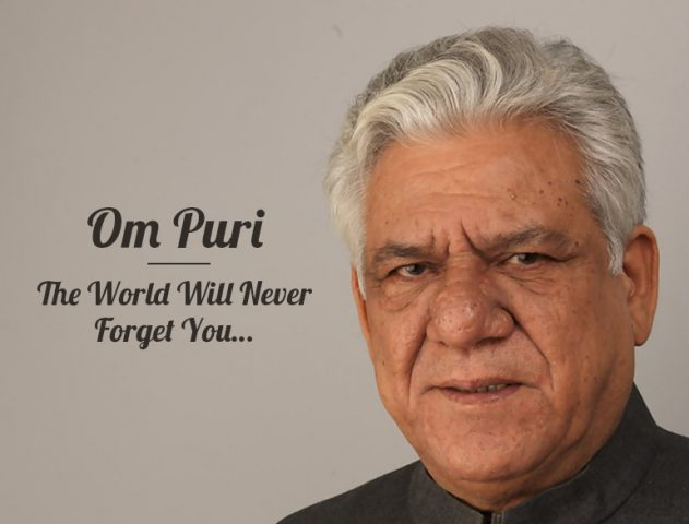 Om Puri passed away @TheRoyaleIndia