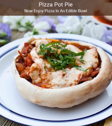 Give Your Deep-Dish Pizzas A Break With Pizza Pot Pies