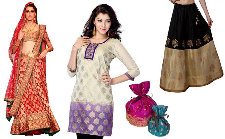repurpose old sarees fashion accesories @TheRoyaleIndia