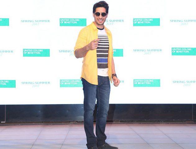 Siddharth malhotra UCB event @TheRoyaleIndia