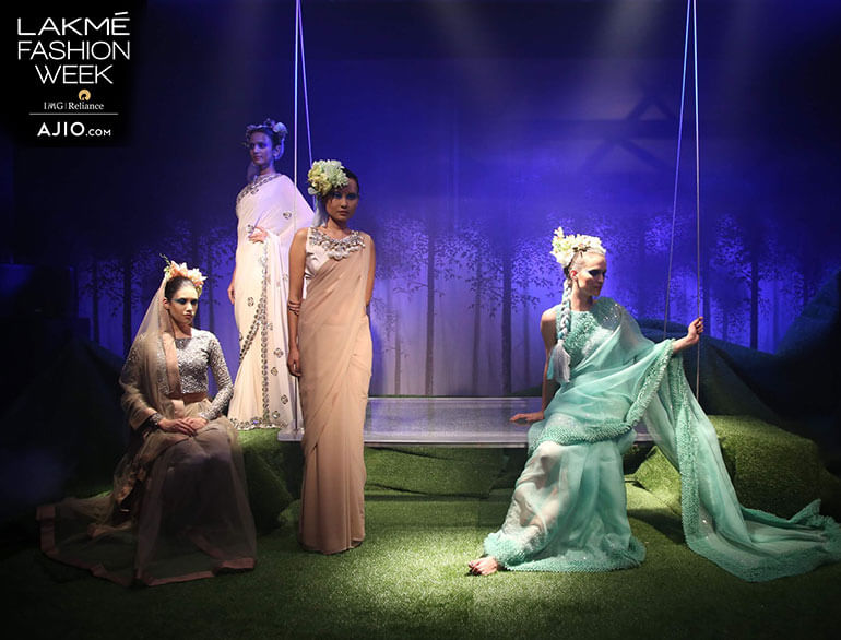 The Lakmé Fashion Week's Summer Resort 2017 Curtain Raiser @TheRoyaleIndia