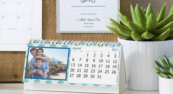 Tips to personalise office desk Personal calender @TheRoyaleIndia