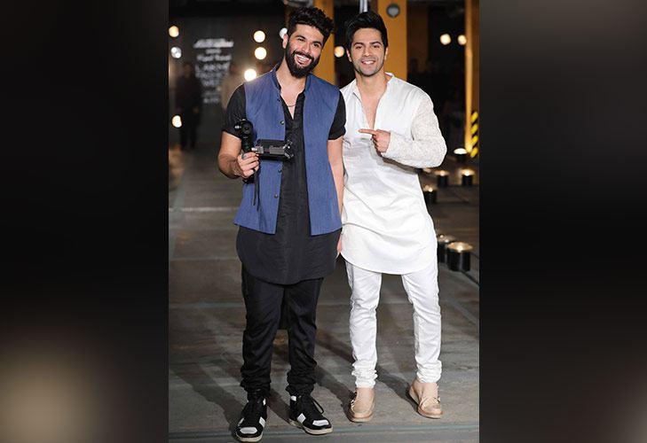 Actor Varun Dhawan walks for Designer Kunal Rawal at LFW SR 2017 @TheRoyaleIndia