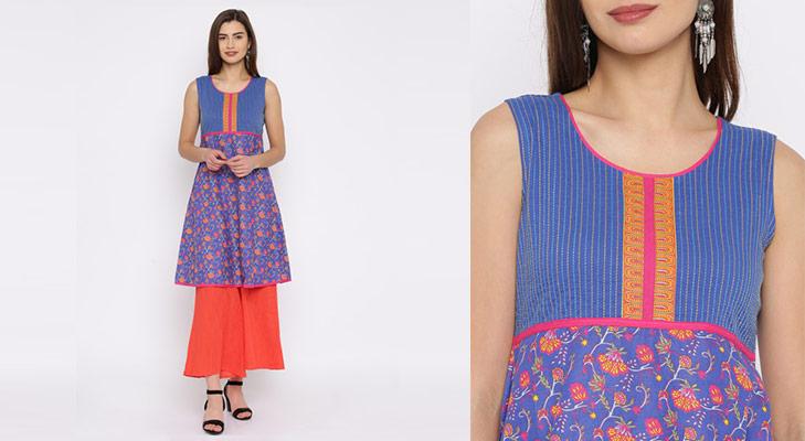 Affordable kurta brands Rangriti @TheRoyaleIndia