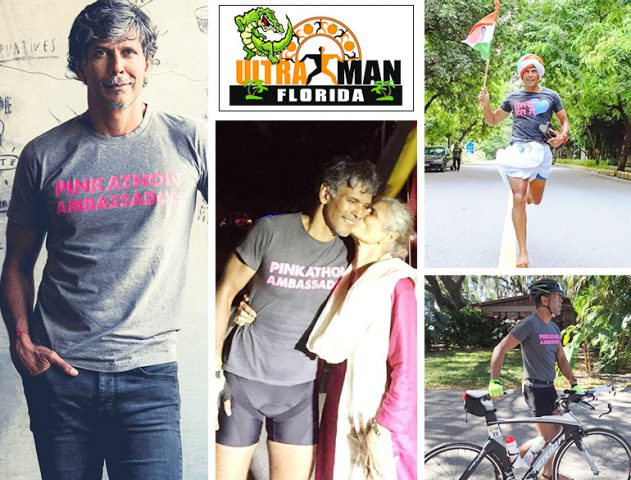 After Iron Man, Milind Soman has become Ultra Man @TheRoyaleIndia