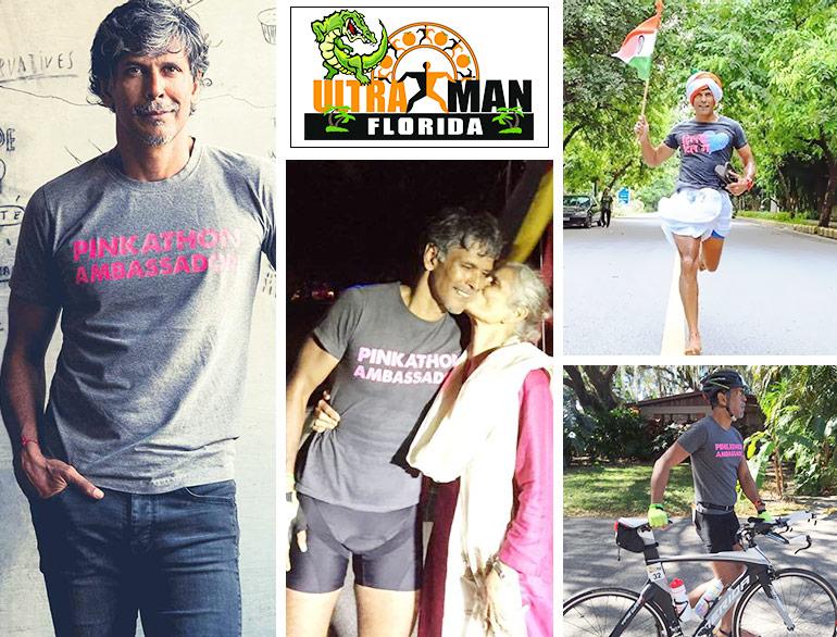 After Iron Man, Milind Soman has become Ultra Man @TheRoyaleIndia