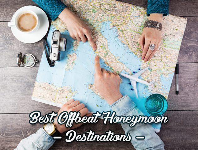 Best Offbeat Honeymoon Destinations @TheRoyaleIndia