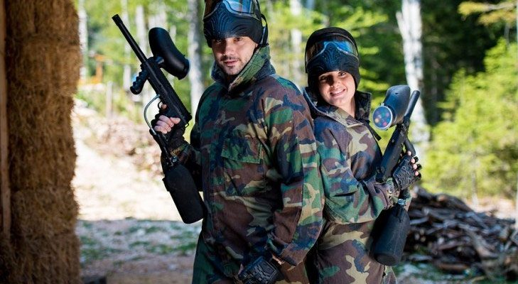 Couple Paint Ball @TheRoyaleIndia