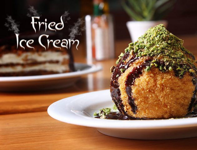 Fried Ice Cream Recipe @TheRoyaleIndia