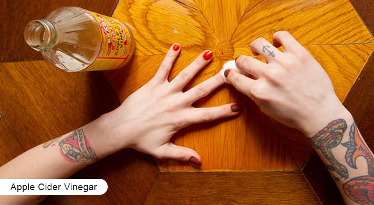 Home remedies for brittle nails apple cider vinegar