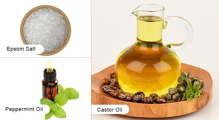 Home remedies for brittle nails castor oil epsom
