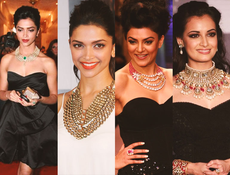 how to wear traditional jewellery with western outfits @TheRoyaleIndia