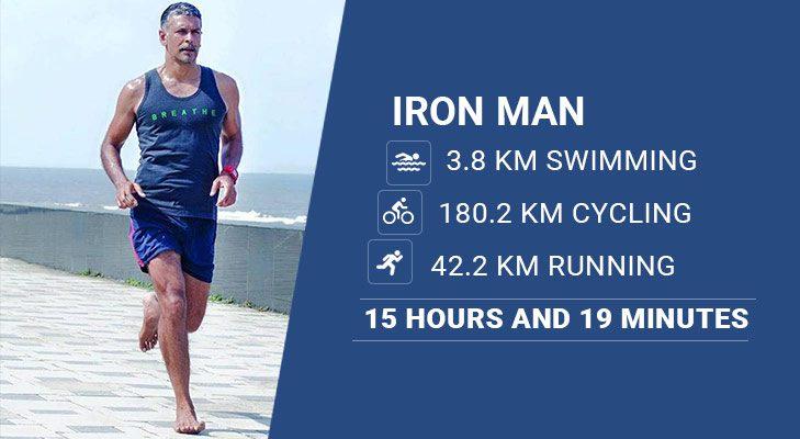 Milind Soman Iron Man @TheRoyaleIndia