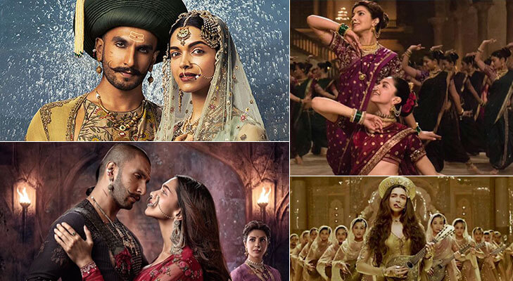 Most expensive Bollywood movies bajirao mastani @TheRoyaleIndia