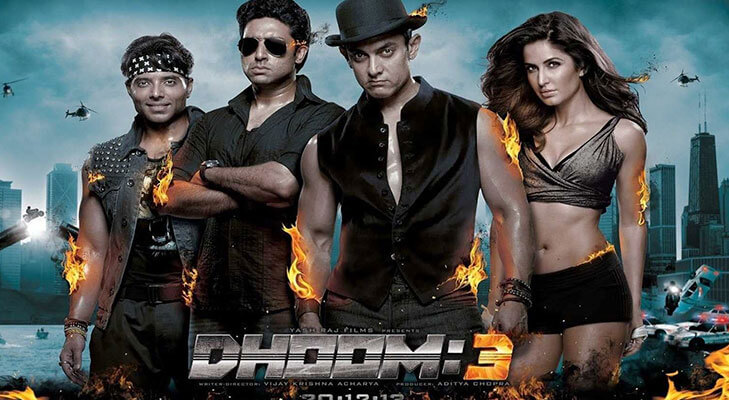 Most expensive Bollywood movies dhoom 3 @TheRoyaleIndia